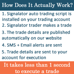 Automated trading signalator - how it works